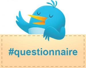 questionnaire Twitter